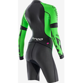 ORCA Core SwimRun Women Black/Green